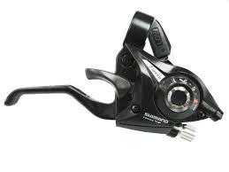 Shimano Dual Control 3x7 speed  ATB Rem/Shifterset, Zwart, Nieuw