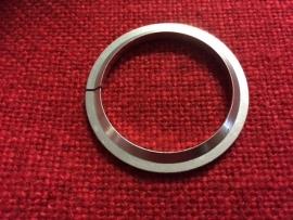 Tapered Headset Ring 1 1/2 inch, Zilver, Gloednieuw