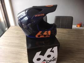 SIXSIXONE MX BMX Fullface Helm, XXS Fullface BMX, MX Helm, Gloednieuw