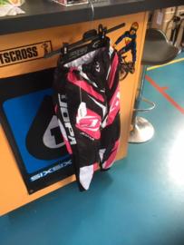 JOPA BMX RACE BROEK, Youth 24, Zwart/Rose, Gloednieuw
