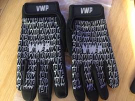 VWP BMX Race Handschoenen, Adult S, Zwart/Grijs Nieuw
