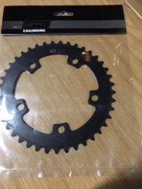 SD, SuperDuper BMX Race Voorblad, Zwart, 41T, 5 gats, Gloednieuw