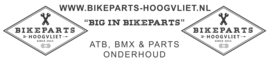 KENNY Track BMX BROEK, Zwart/Wit/Rood, Adult 28, Nieuw met tags