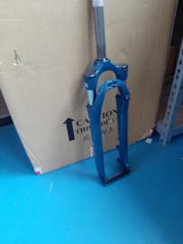 Suntour  NEX E25 28 inch Verende Voorvork, Blauw, Nieuw
