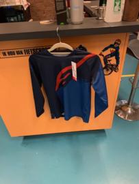 ALPINESTARS BMX Wedstrijd Shirt, Youth Large, Blauw/Blauw, Gloednieuw