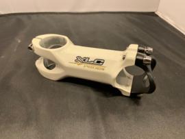 XLC 100mm Stuurpen, ATB/RACE, Wit/Zwart, Gloednieuw