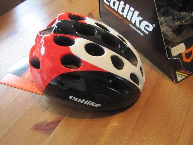 Catlike Tricolore Rojo Helm, ATB of Race, Small, Gloednieuw