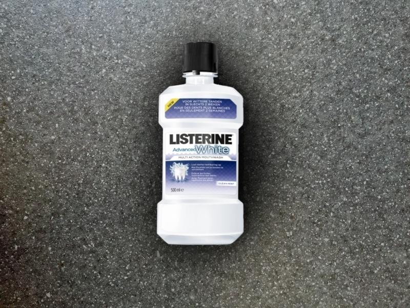 Listerine Erweiterte Weiß Mundwasser 500ml