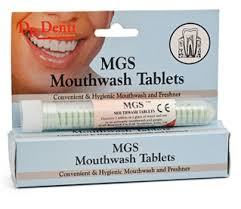 Dr. Denti Mouthwash Tablets