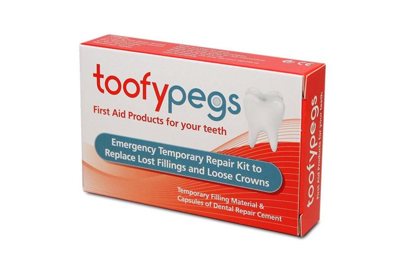 Toofypegs (Noodvulling en Kroon reparatie set)