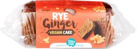Vegan cake rogge gember