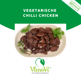 Vegan chilli chicken