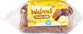 Vegan cake banaan walnoot