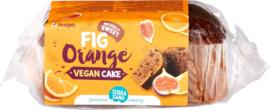 Vegan cake vijgen sinaasappel