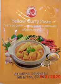 Gele curry pasta