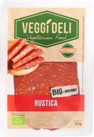 Vegetarisch broodbeleg salami