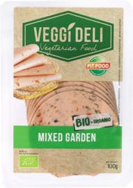 Vegetarische broodbeleg tuinkruiden