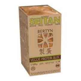 Seitan naturel bloc 550gr