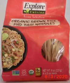Organic brown rice pad Thai noodles