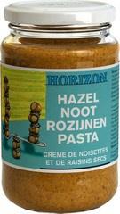 Hazelnoot-rozijnenpasta z.z.