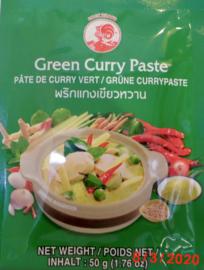 Groene thai curry