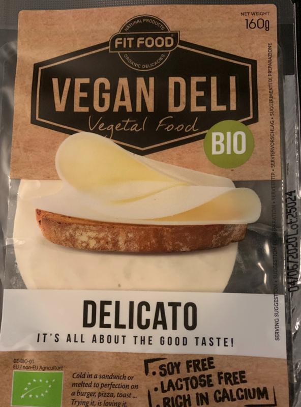 Vegan kaasplakken Delicato