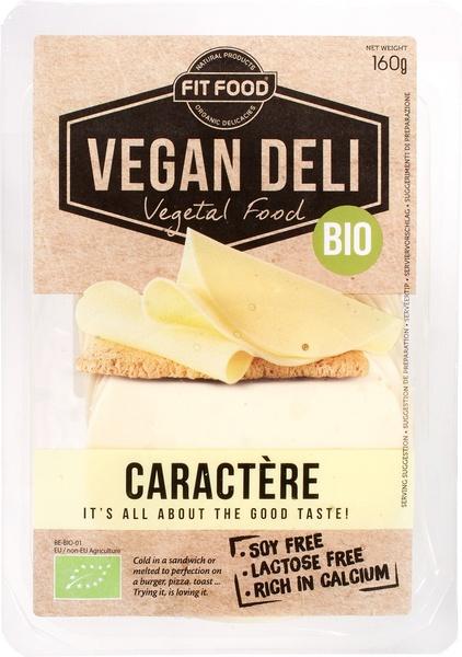 Vegan kaasplakken caractère