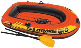 Opblaasboot Explorer Pro 200 Set - tweepersoons
