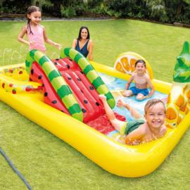 Zwembad met glijbaan - Fruity Adventure