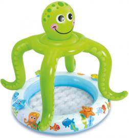 Baby zwembad - Smiling Octopus met dakje