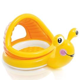 Baby zwembad - Gerrit de Slak met dakje