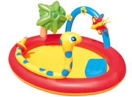 Kinderzwembad - Rups met sproeier