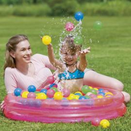 Kinder Ballenbak en Zwembad in 1 - Roze