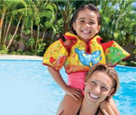 Kinderzwemvest met zwembandjes