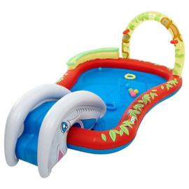 Zwembad met glijbaan - Dierentuin