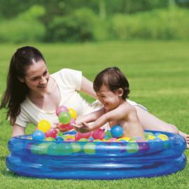 Kinder Ballenbak en Zwembad in 1 - Blauw