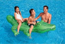 Opblaas Krokodil XL