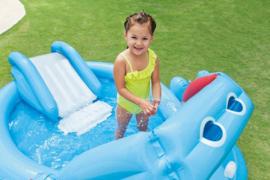 Zwembad met glijbaan - Hippo