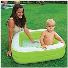 Baby zwembad - Play Box Pool vierkant - Groen