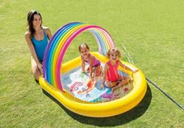 Kinderzwembad - Regenboog met sproeier
