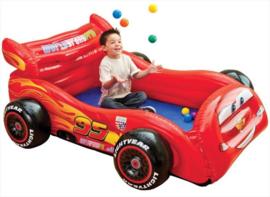 Cars Opblaasbare Raceauto met Speelballen
