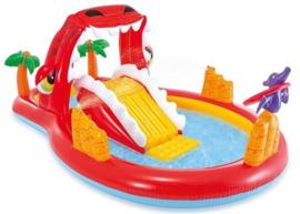 Zwembad met glijbaan - Happy Dino