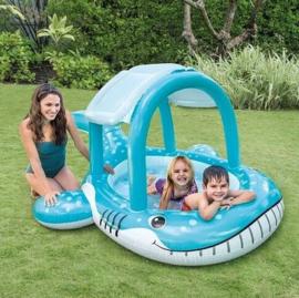 Baby zwembad - Whale Shade Pool met dakje