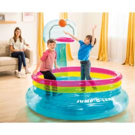 Opblaasbare Basketbal Trampoline
