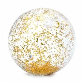Glitter Strandbal - Goud