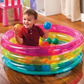 Opblaasbaar Baby Ballenbad