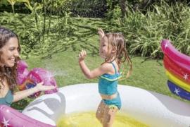 Kinderzwembad - Eenhoorn Zwembad met Sproeier