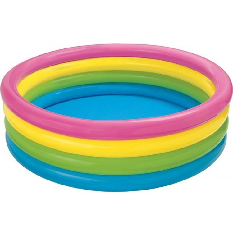 Kinderzwembad - Regenboog 4 Ring