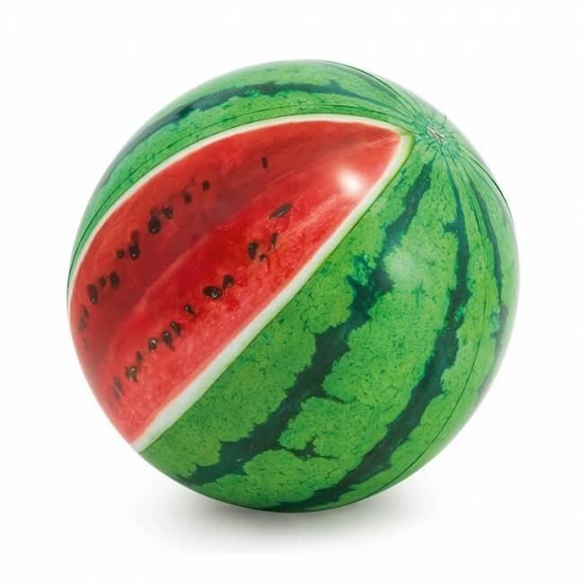 Watermeloen Strandbal XL - Realistische Print