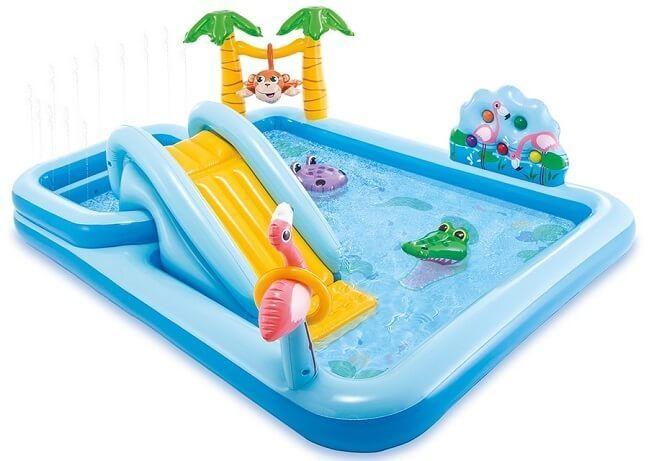 Zwembad met glijbaan - Jungle Adventure